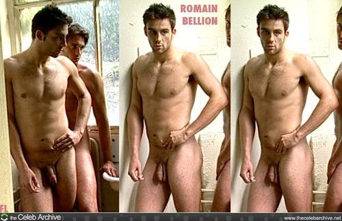 Romain Bellion Completely Naked