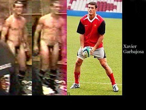 Naked Footballer Xavier Garbajosa