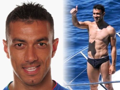 Italian Footballer Bulge