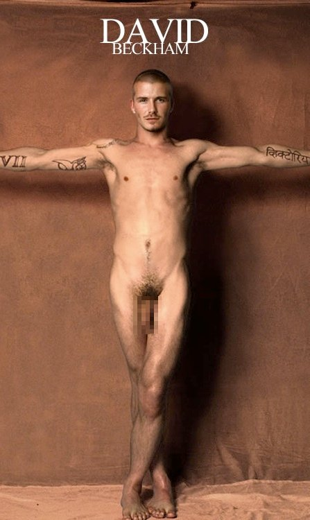 Nude Footballer David Beckham