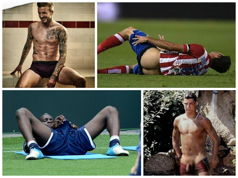 Nude Athletes Collage