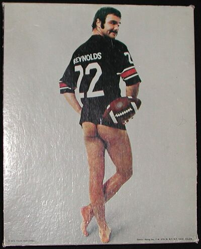 Burt Reynolds Naked In A Jersey