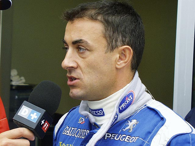Race Car Driver Jean Alesi Naked
